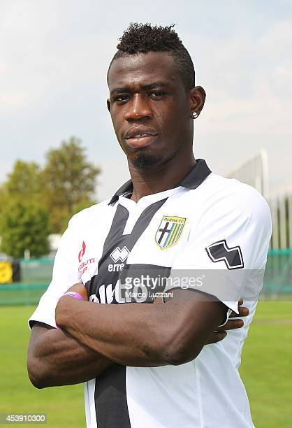 Afriyie Acquah poses during the official Parma FC portrait session at the club's training ground on August 21 2014 in Collecchio Italy