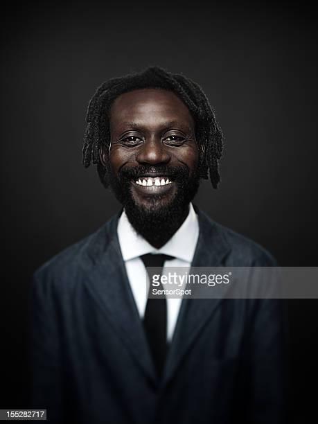 アフロアメリカン男性