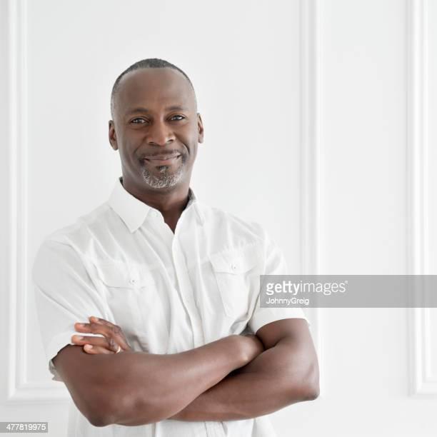 Afro Caribbean Mature Man Portrait