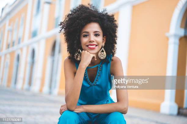 afro fashion model - brazilian culture stock pictures, royalty-free photos & images