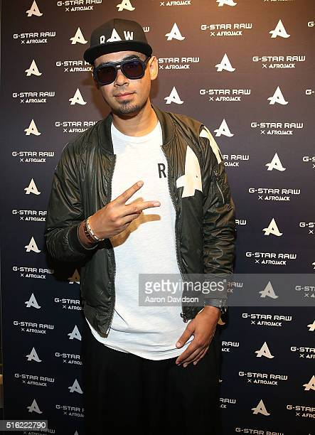 Afrojack attends an instore meet and greet at GStar on March 17 2016 in Miami Beach Florida