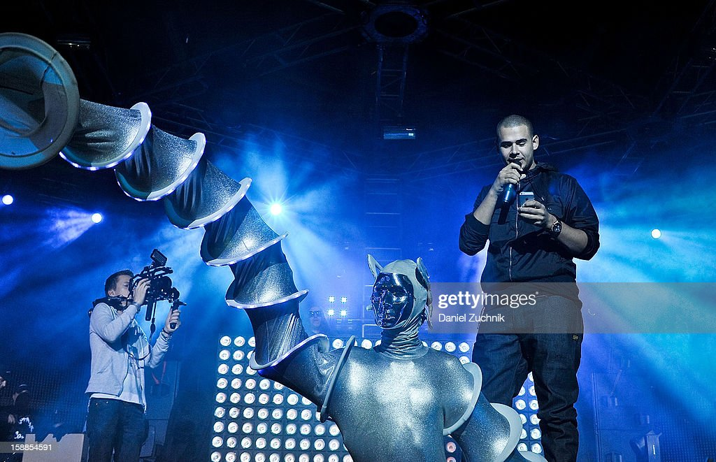 DJ Afrojack attends Jacked New Year's Eve 2013 at Pier 94 on December 31, 2012 in New York City.