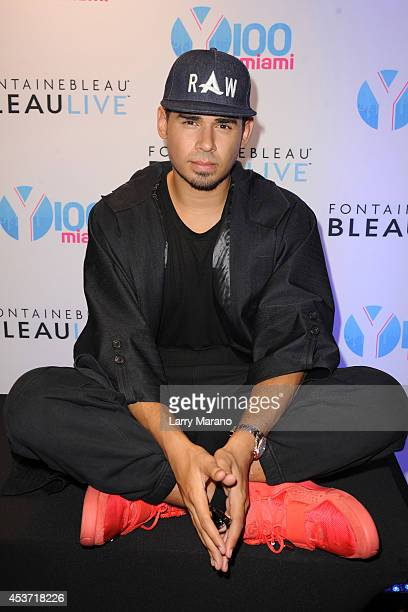 Afrojack attends Mackapoolooza at Fontainebleau Miami Beach on August 16 2014 in Miami Beach Florida