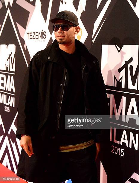 Afrojack attends the MTV EMA's 2015 at Mediolanum Forum on October 25 2015 in Milan Italy