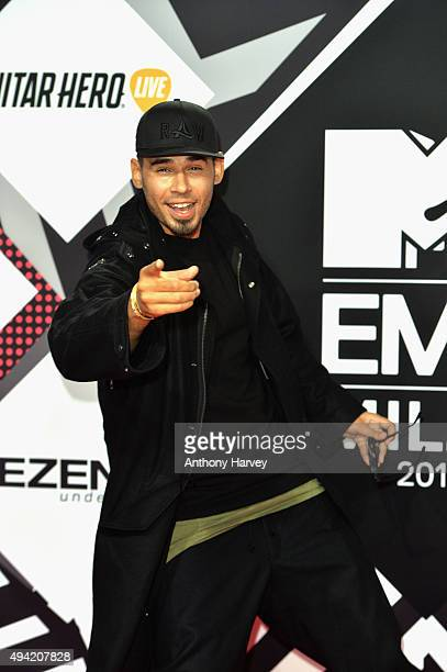 Afrojack attends the MTV EMA's 2015 at the Mediolanum Forum on October 25 2015 in Milan Italy