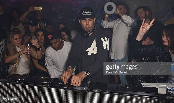 Afrojack attends the Tape London official after party for the Gumball 3000 rally at Tape London on May 2 2016 in London England