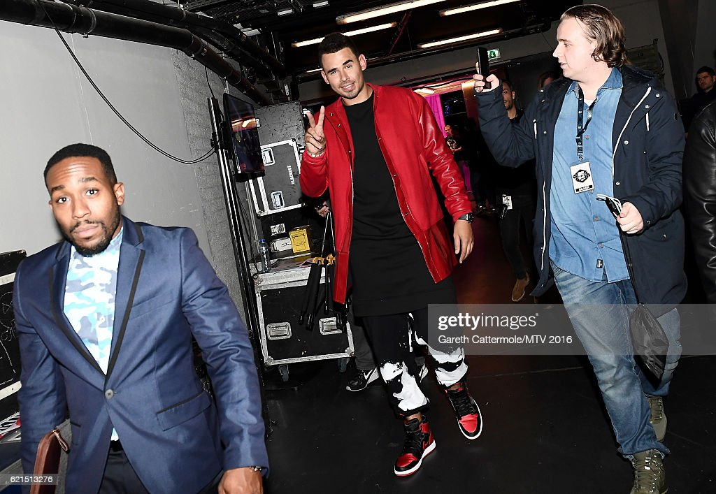 Afrojack is seen backstage during the MTV Europe Music Awards 2016 on November 6, 2016 in Rotterdam, Netherlands.