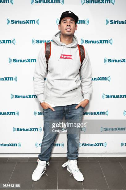 Afrojack visits the SiriusXM Studios on May 29 2018 in New York City