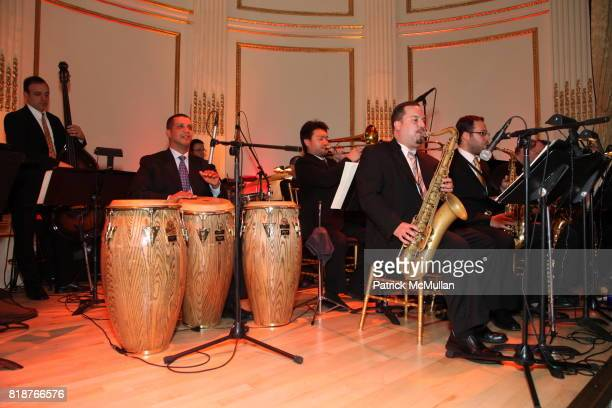 AfroLatin Orchestra attends BALLET HISPANICO'S 40th Anniversary Spring Gala at The Plaza on April 19 2010 in New York City