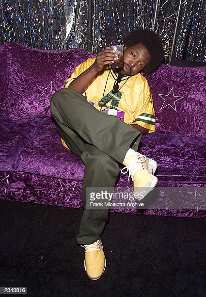 Afroman backstage at the 2001 Radio Music Awards at the Aladdin Hotel in Las Vegas Friday Oct 26 2001 Photo by Frank Micelotta/ImageDirect