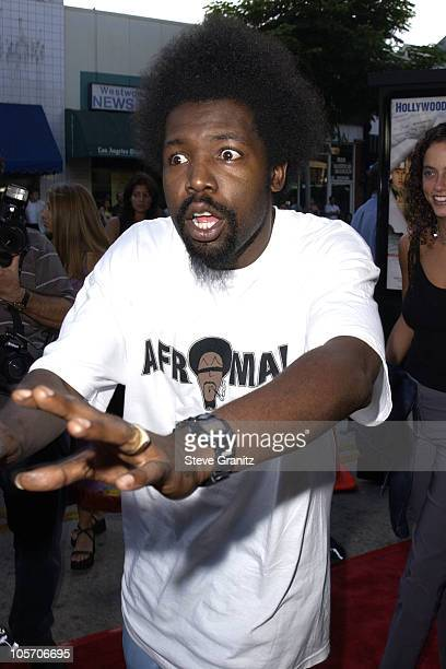 Afroman during 'Jay Silent Bob Strike Back' Los Angeles Premiere at Mann's Bruin Theater in Westwood California United States