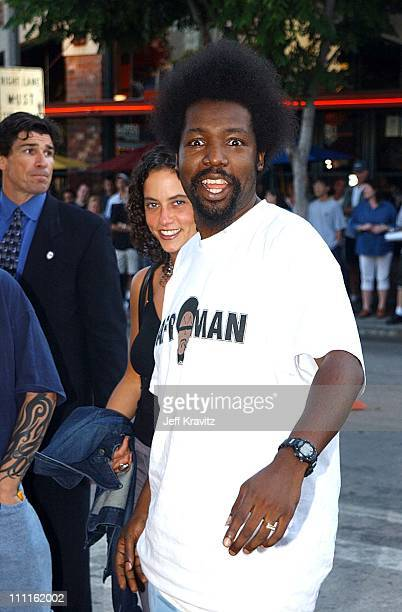 Afroman during 'Jay Silent Bob Strike Back' Premiere in Los Angeles California United States