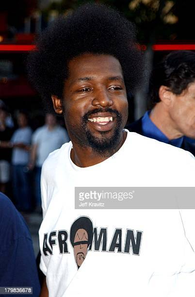 Afroman during Jay Silent Bob Strike Back Premiere in Los Angeles California United States