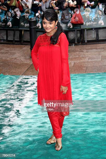 Afshan Azad attends the 'Harry Potter And The Order Of The Phoenix' UK premiere held at the Odeon Leicester Square on July 3 2007 in London