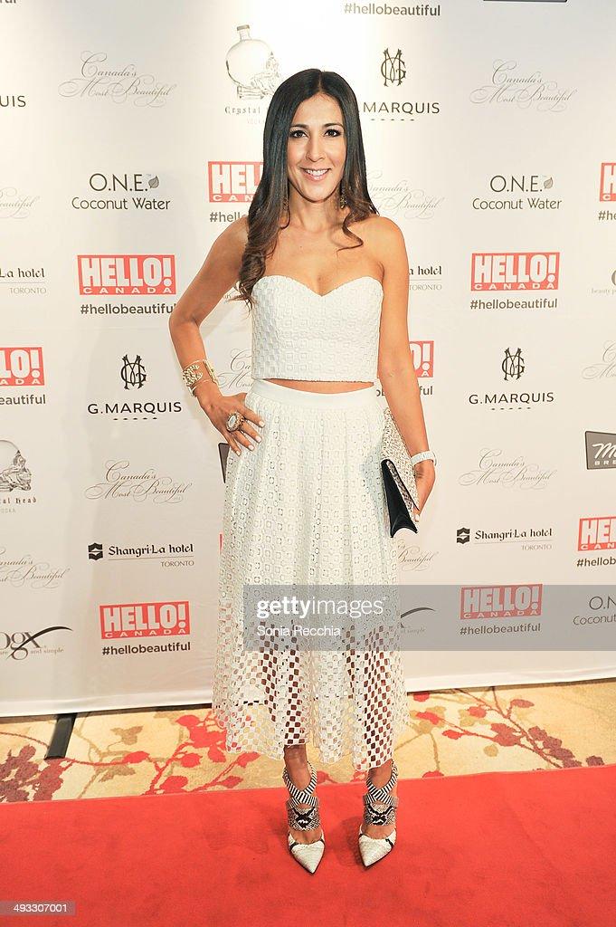 Afshan Tafler attends HELLO! Canada Gala Celebrates Canada's Most Beautiful Gala at Shangri-La Hotel on May 22, 2014 in Toronto, Canada.