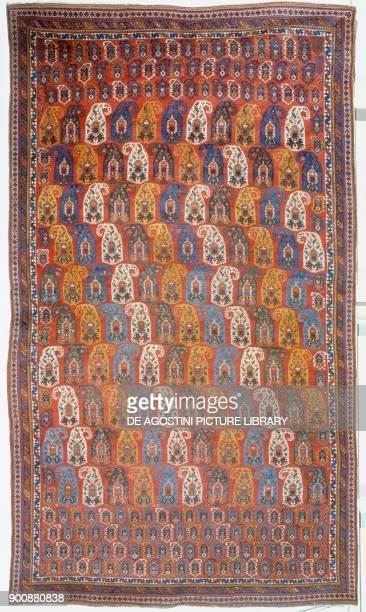 Afshari rug 420x240 m Iran 19th century