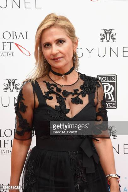 Afsi Moshiri attends the Global Gift Gala for The Diana Award hosted by Earl Spencer at Althorp House on June 14 2017 in Northampton England