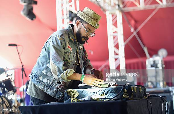 Afta1 performs onstage during day 3 of the 2016 Coachella Valley Music And Arts Festival Weekend 1 at the Empire Polo Club on April 17 2016 in Indio...