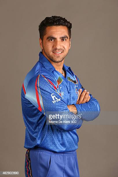 Aftab Alam poses during the Afghanistan 2015 ICC Cricket World Cup Headshots Session at the Intercontinental on February 7 2015 in Adelaide Australia