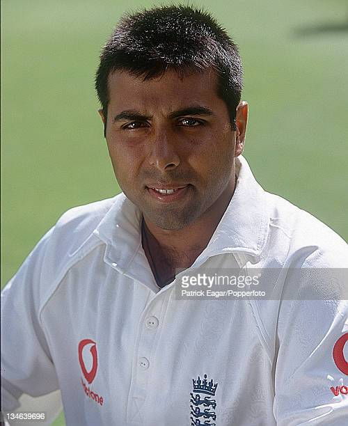 Aftab Habib England v New Zealand 1st Test Edgbaston Jul 99