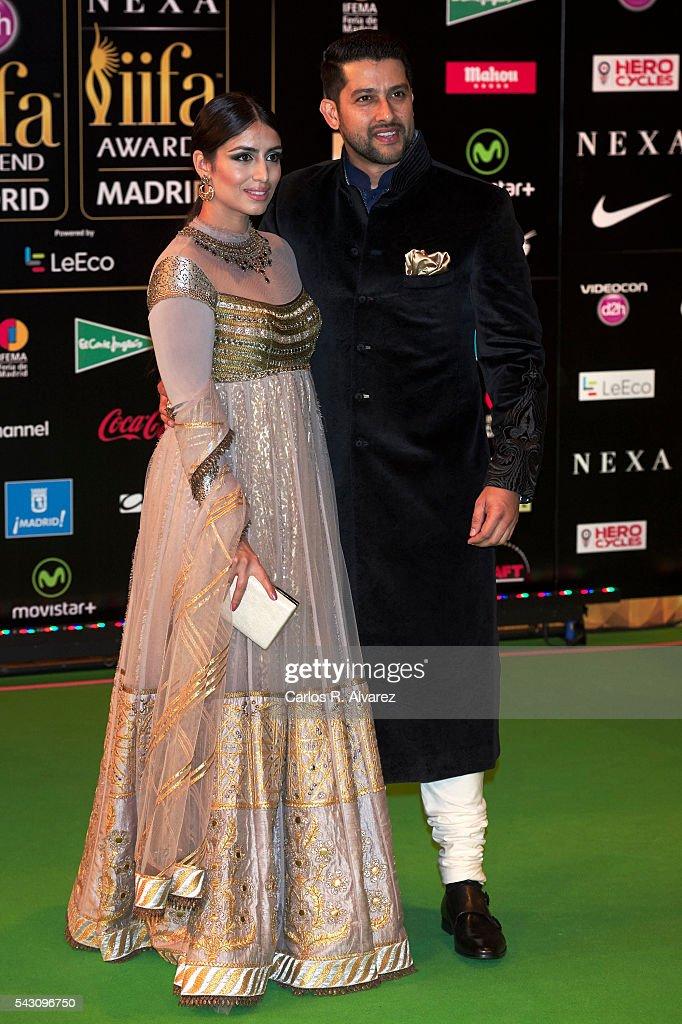 Aftab Shivdasani attends the 17th IIFA Awards (International Indian Film Academy Awards) at Ifema on June 25, 2016 in Madrid, Spain.