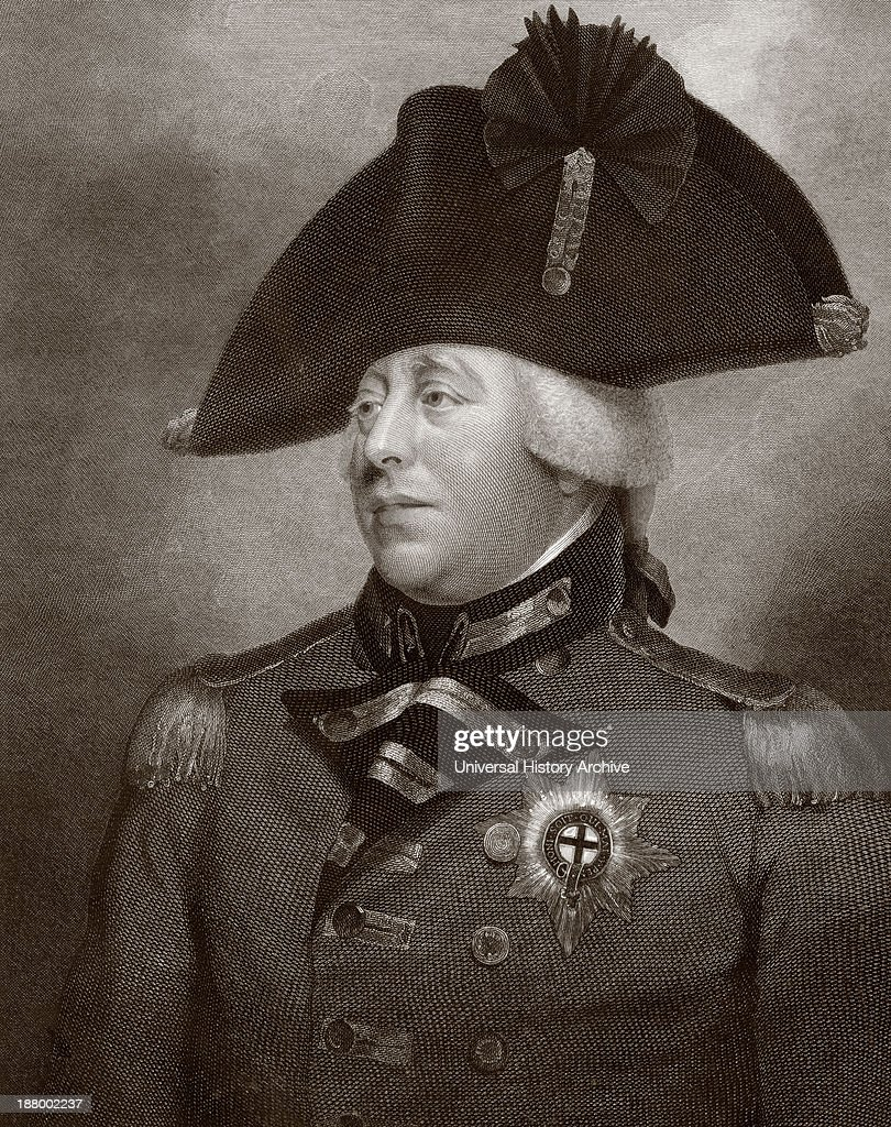 King George Iii Of Great Britain And Ireland : News Photo