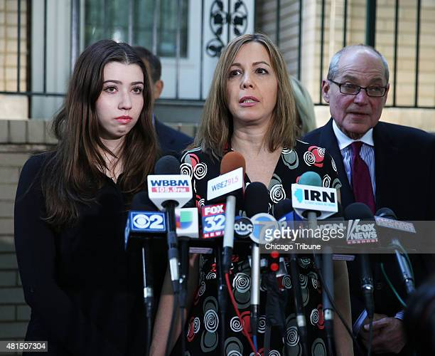 After a federal appeals court in Chicago threw out five of 18 counts against former Illinois Gov Rod Blagojevich his daughter Amy left and wife Patti...