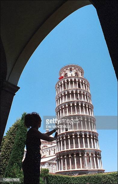 After a long period of carrying a burden worthily of Atlas the Leaning Tower of Pisa has finally been freed of the weights cables and braces that...