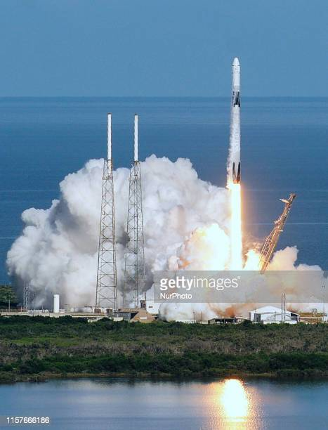 After a one day launch delay due to weather, a SpaceX Falcon 9 rocket lifts off from Space Launch Complex 40 at Cape Canaveral Air Force Station,...