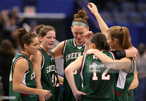 After a promising first half UW Green Bay are defeated my UConn 9470 during the NCAA Tournament second round game at the Hartford Civic Center in...