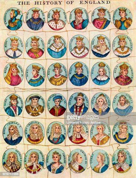 After a reproduction of possibly the first jigsaw puzzle It dates from the early 19th century showing all the Kings of England and was issued around...