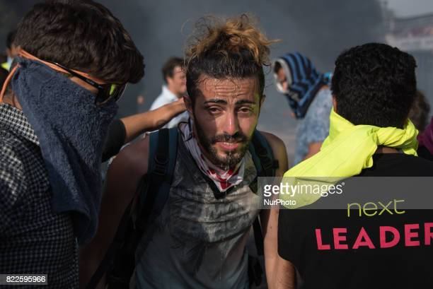 After a sudden border closure along the Balkan route, migrants and refugees rioted and threw rocks at Hungarian border police, who responded with...