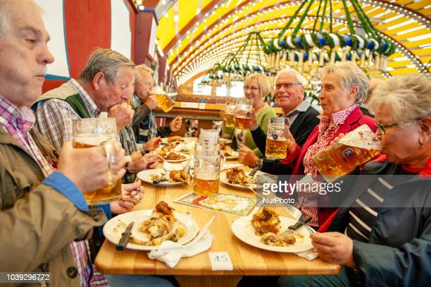After a very busy weekend at the Oktoberfest grounds the first Monday was a pleasant relaxing day Oktoberfest is the world's largest beer celebration...