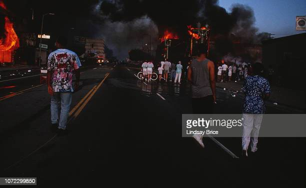 After all four officers who were videotaped beating Rodney King were acquitted by a Simi Valley jury, the city erupts in an uprising, businesses...