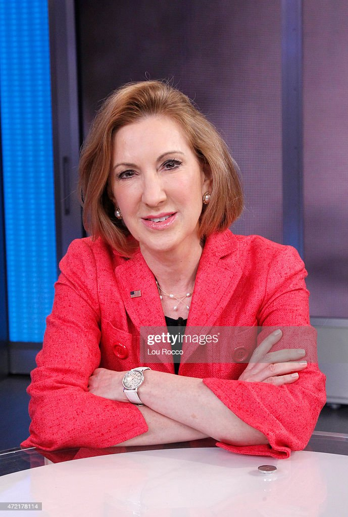AMERICA - After announcing her candidacy for the Republican presidential nomination, Carly Fiorina, the former chief executive of Hewlett-Packard, was a guest on 'Good Morning America,' 5/4/15, airing on the ABC Television Network.