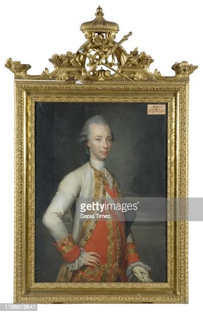 After Anton Raphael Mengs, Leopold II, 1747-1792, German-Roman Emperor, painting, portrait, Holy Roman Emperor, oil on canvas, Height, 101 cm ,...