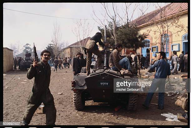 After Ayatollah Khomeini's return to Tehran on February 1st supporters overthrew Shah Pahlavi's government and proclaimed Khomeini as religious and...