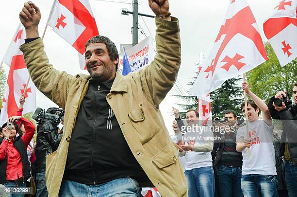 CONTENT] After defeating in the Parliamentary Election former ruling party of Georgia the United National Movement drew over thousands of supporters...