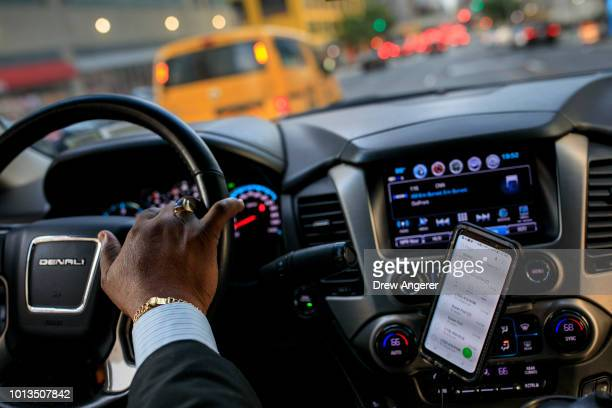 After dropping off passengers at a Broadway play, Johan Nijman, a for-hire driver who runs his own service and also drives for Uber on the side,...