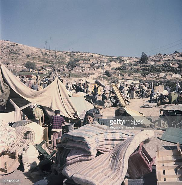 After Earthquake At Agadir In Morocco On February 1960
