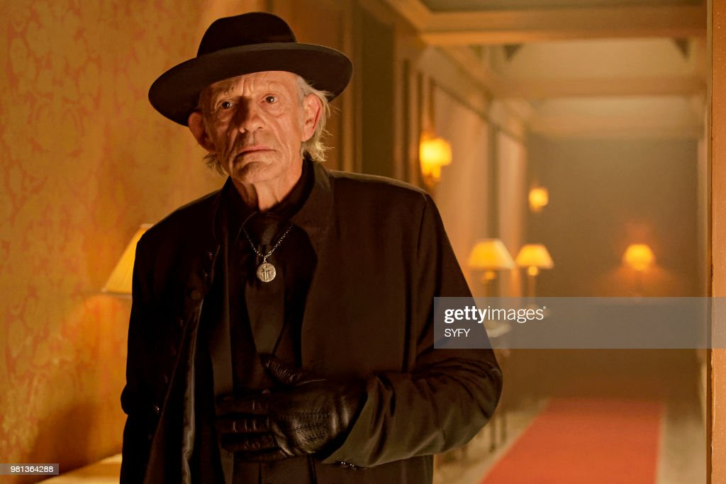 12 MONKEYS -- 'After' Episode 405 -- Pictured: Christopher Lloyd as Man in Black --