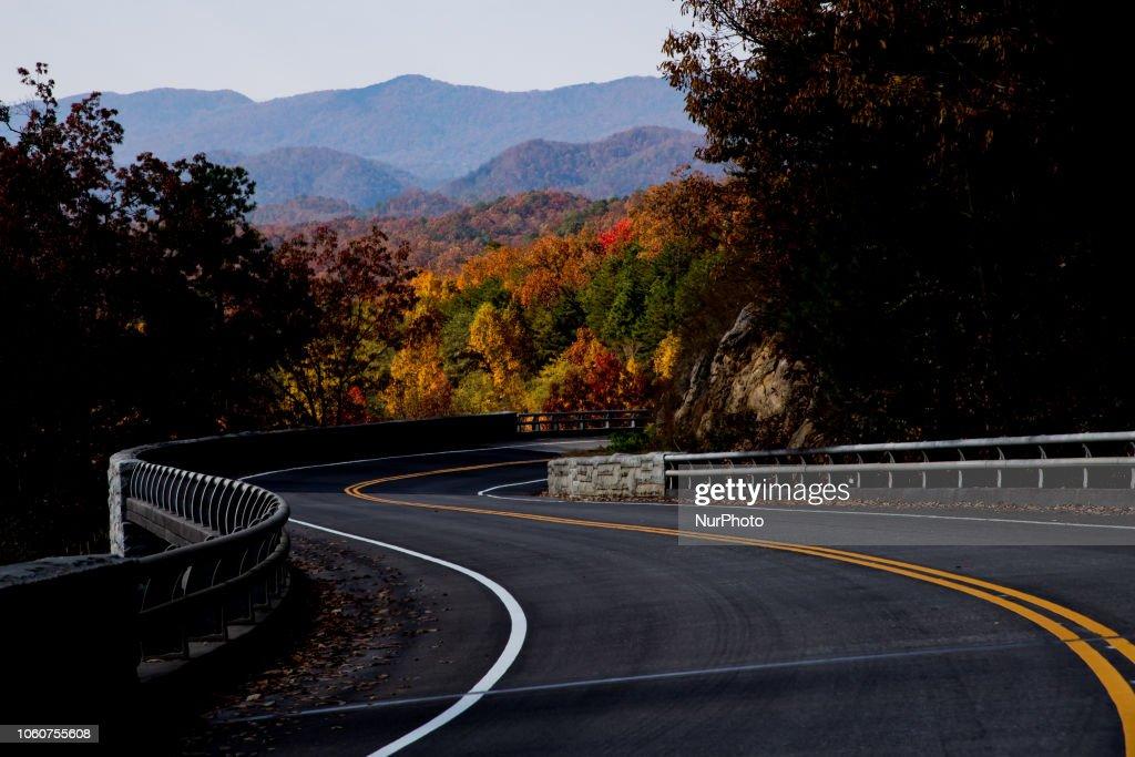 Great Smoky Mountains Trail Hike : News Photo