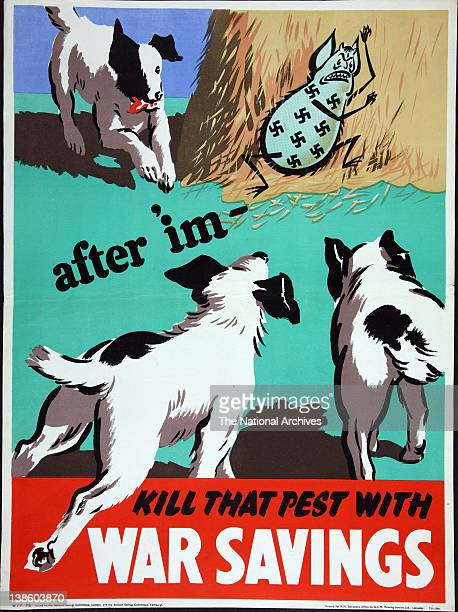 After 'imKill that pest with War Savings 1943