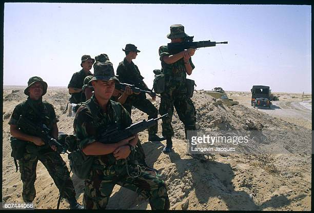 After Iraq's invasion of Kuwait on August 2 the United Nations responds immediately condemning the invasion ordering the withdrawal of Iraqi troops...