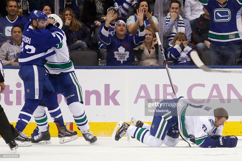 Toronto Maple Leafs V Vancouver Canucks : News Photo