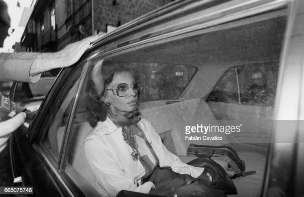 After leaving the Naples prison where she has served 17 days of her 30day sentence for tax fraud Italian cinema darling Sophia Loren travels to Rome...