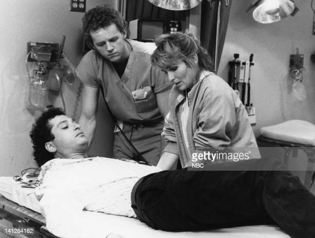 "After Life"" Episode 9 -- Pictured: Howie Mandel as Dr. Wayne Fiscus, David Morse as Dr. Jack Morrison, Sagan Lewis as Dr. Jacqueline Wade -- Photo..."