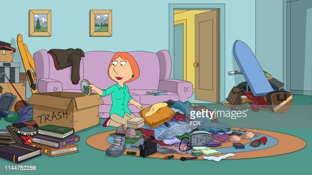 After Lois reads a new book on the joys of decluttering she challenges the rest of the Griffins to throw anything out of the house that does not...
