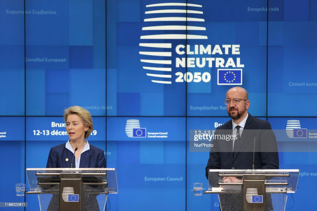 Press Conference At European Council : News Photo