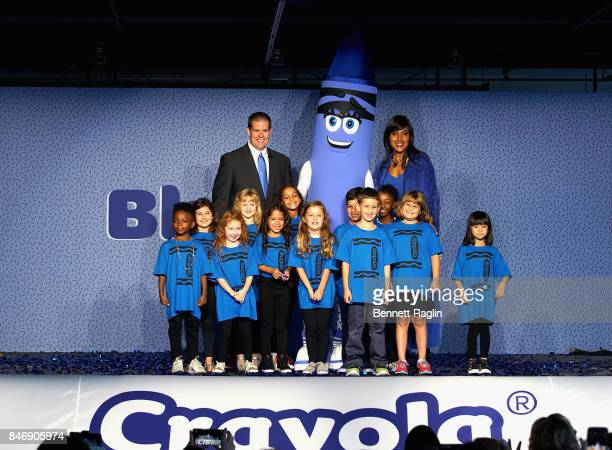 After months of fan deliberation Crayola CEO and President Smith Holland and Crayola SVP of US and Global Marketing Melanie Boulden joined by excited...